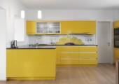 Kuchyně se slunečnicí