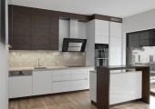 Kuchyně s mramorovou deskou